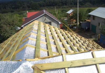 Утеплим крышу вашего дома надежными материалами под ключ
